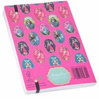 Darling Diva's Busy Being Fabulous A5 Lined Notebook